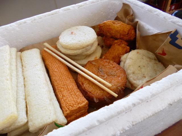 天ぷらといっても練り物ばっかりです