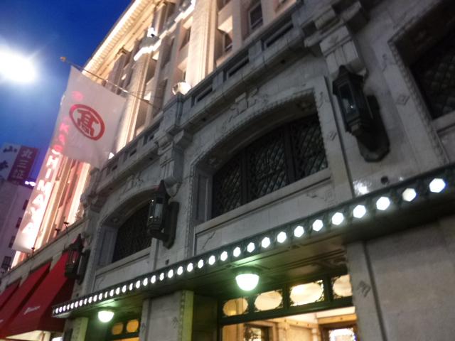 東京の老舗デパートはどれもこれも文化財級の価値があります