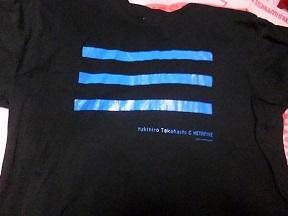 メンバーがライブで着てたMETAFIVEのゼロサンTシャツ