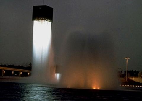 奥はコロナで,手前が星雲・霧の塔です