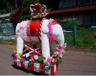 s-花祭り象
