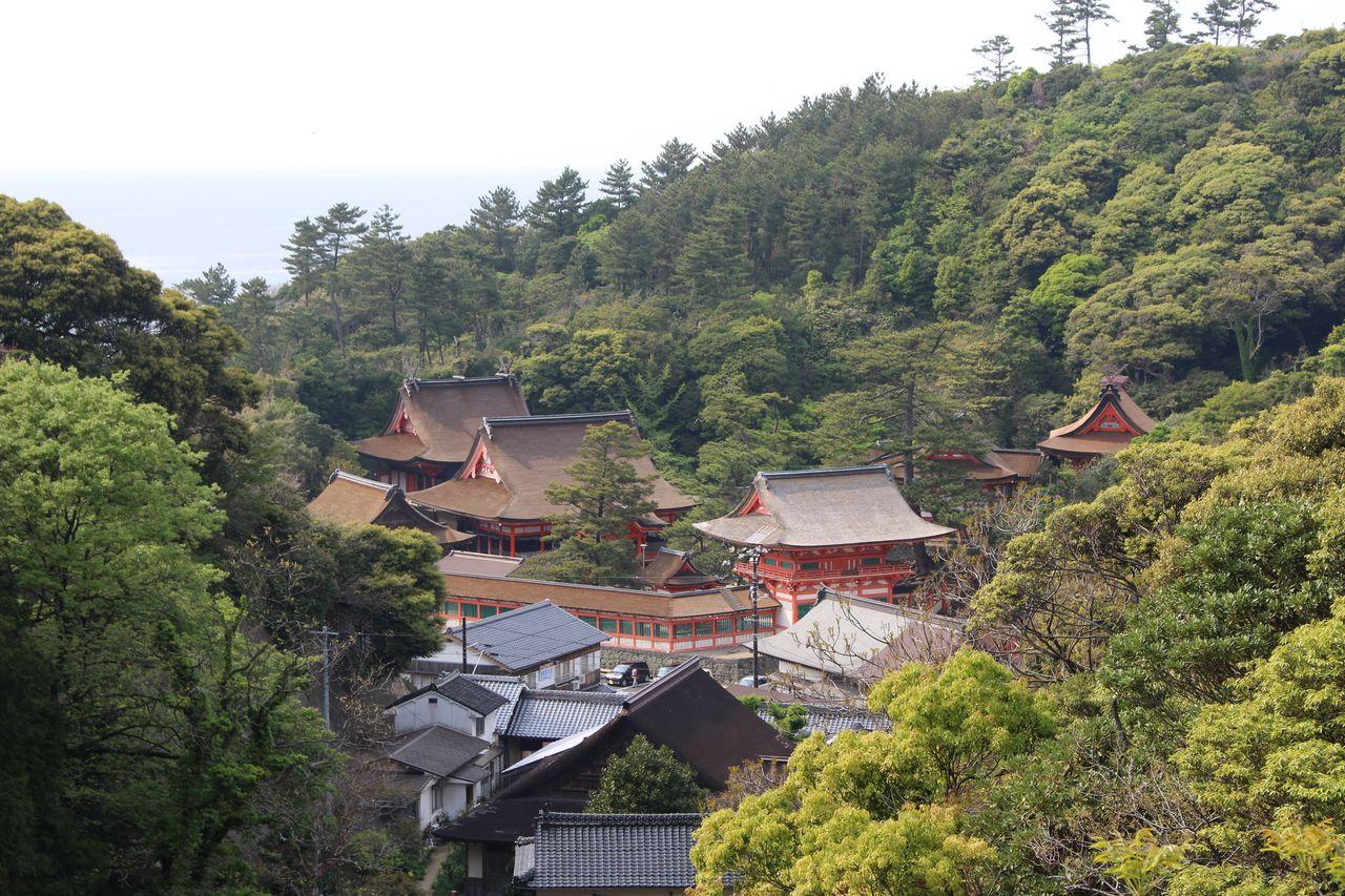 日御碕神社遠景