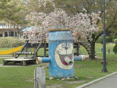 庄内町(旧余目)八幡公園_20080425