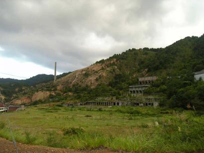 尾去澤鉱山跡