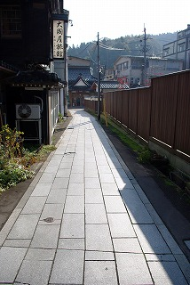 湯田川_路地