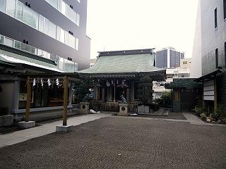 渋谷_御嶽神社_拝殿