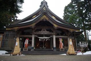 太平山三吉神社_4_拝殿
