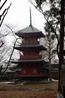 日吉八幡神社_3_三重塔