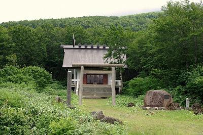 鳥海山大物忌神社中の宮