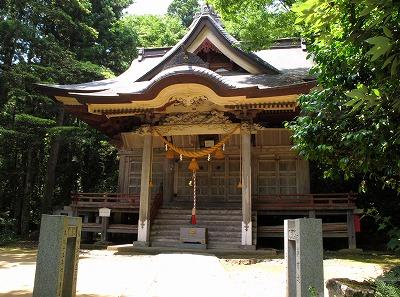 象潟_金峯神社_拝殿