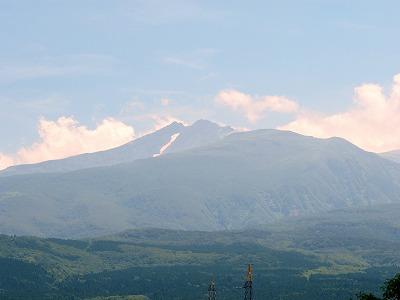 秋田側から見た鳥海山_1