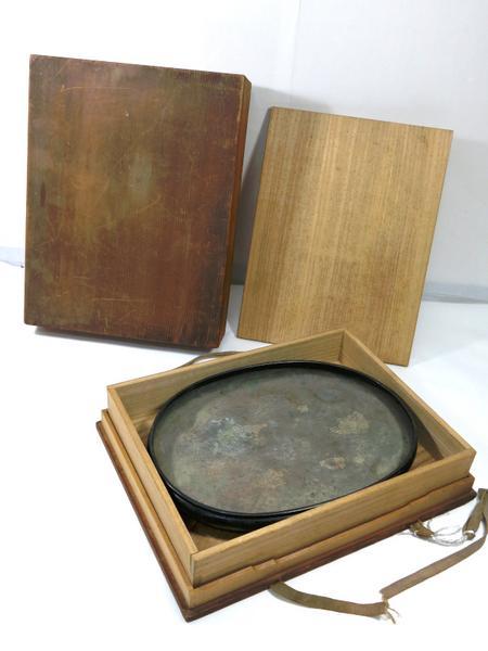 古銅 水盤