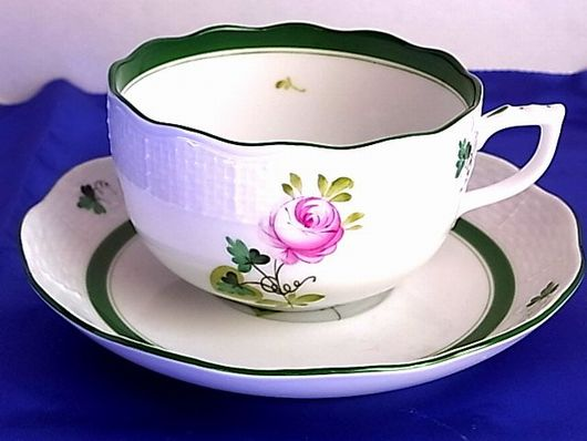 ヘレンド ウィーンのバラ カップ&ソーサー
