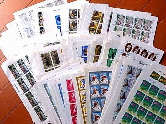 シート 未使用 記念切手