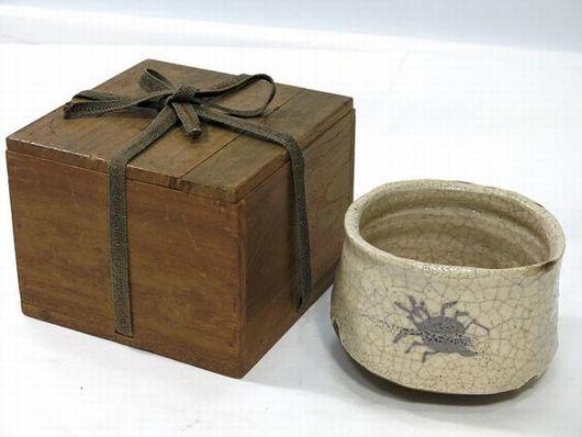 絵志野 茶碗
