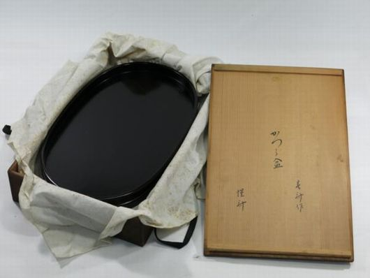 茶道具 春斎作 桂盆