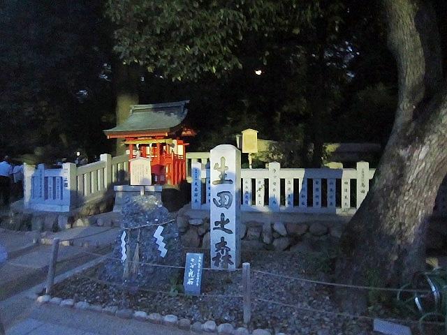 2014.6.19 生田の森『ホタルの夕べ』に行きました。