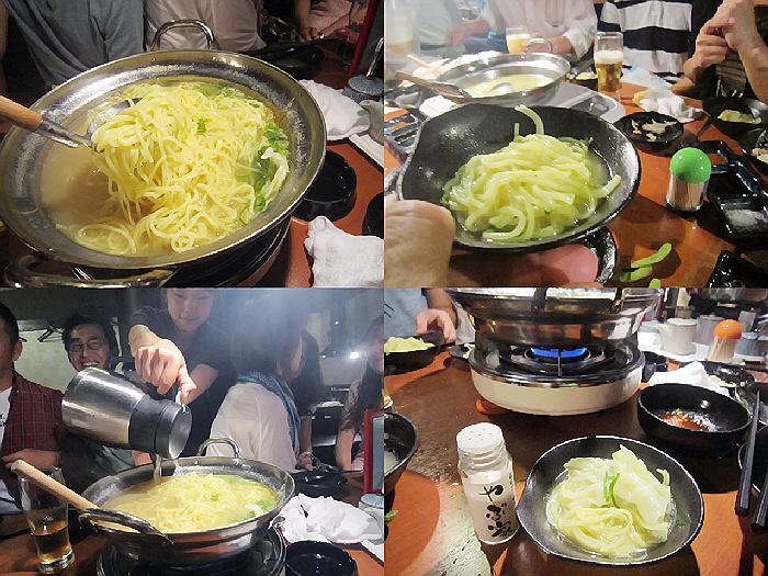 2014.6.14 メリパラン仲間の復帰を祝う会&やぶ屋千治ーず結成(^^)v
