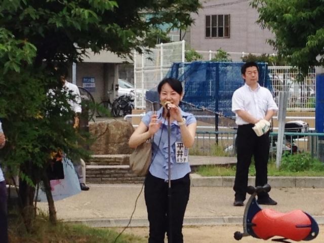 2014.7.5 みすが七夕祭りに参加しました(^^♪