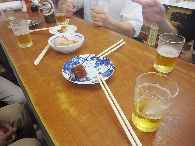 七夕祭り打ち上げ編ヽ(^o^)丿 みすが地区『りき亭』&立ち飲み巡り~♪