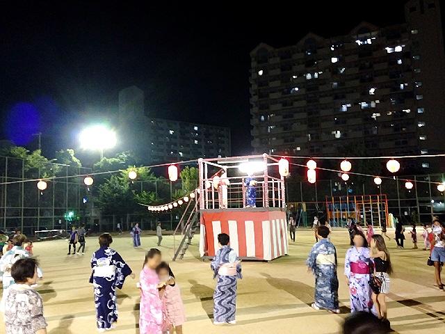 毎年恒例のみすが地区盆踊りに行ってきましたヽ(^o^)丿