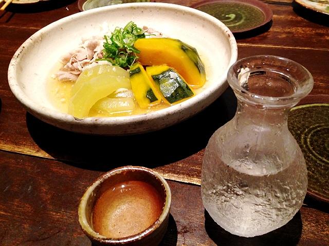 大阪産(もん)の地野菜&魚のQU@本町でぐるナビコースでした!(^^)!