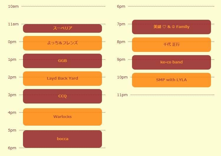2014/5/24 「Golden Valley Music Festival 」-金谷音楽祭-time