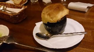 つぼ焼き(マッシュルームのクリーム煮)