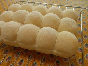 201407 ふわふわ白いちぎりパン