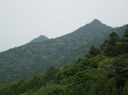 男体山と女体山のツーショット