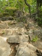 男体山への登り