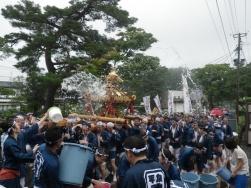 水かけ神輿 (2)