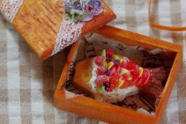 お魚のケーキ 2