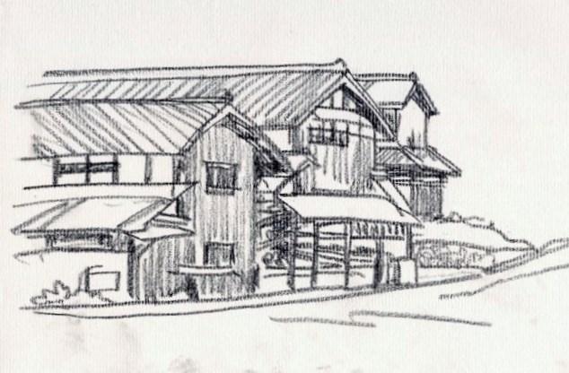 宇治田原の風景