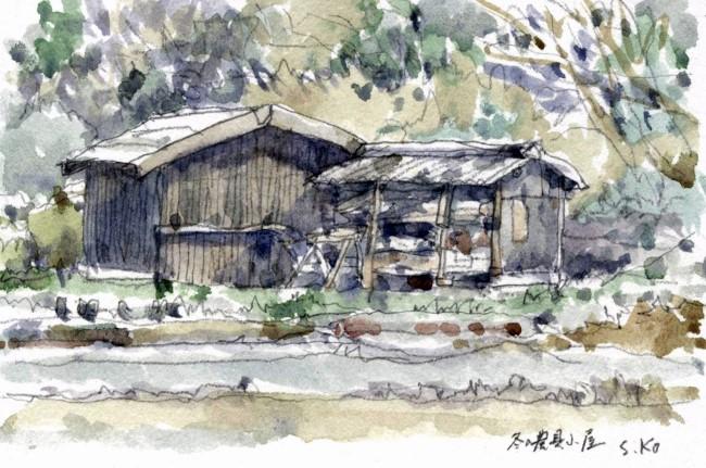 冬の農具小屋 (650x431)