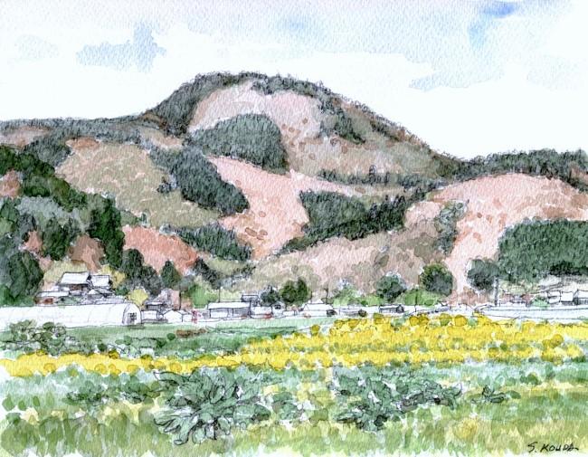 春の山猪名川 (650x505)