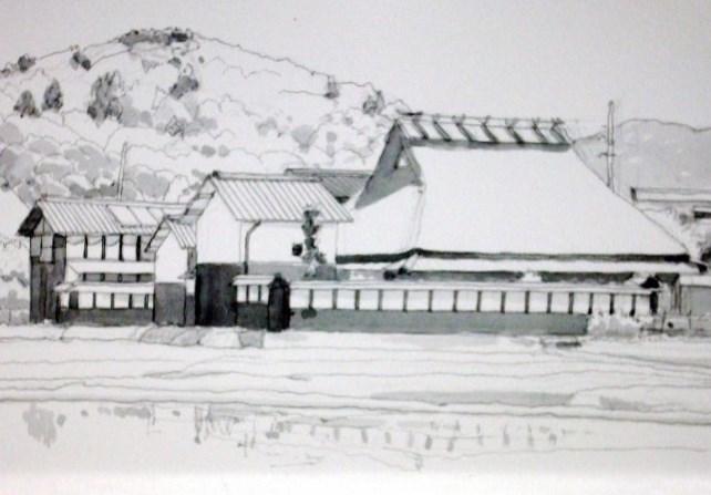 丹波篠山の農家 グレー (650x459)