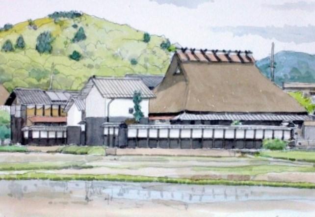 丹後篠山の農家2 (650x452)