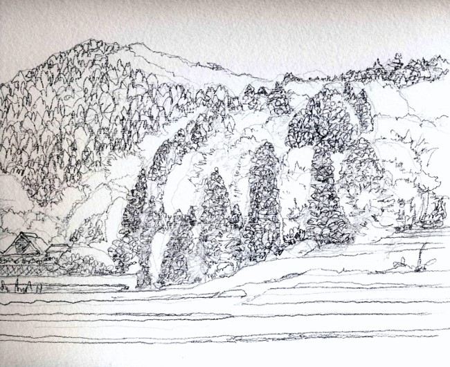 丹波の里山2 グリサイユ (650x531)