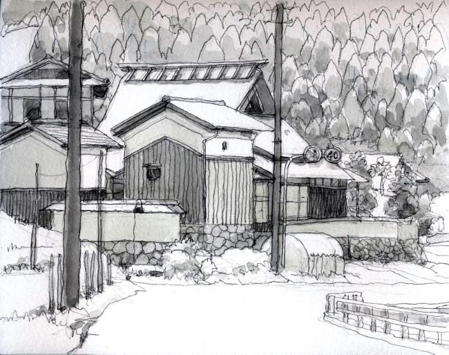 高槻 山手の農家 グリサイユ (650x514)