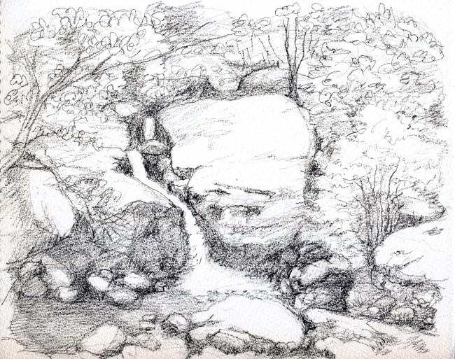 瑠璃渓 デッサン (650x513)