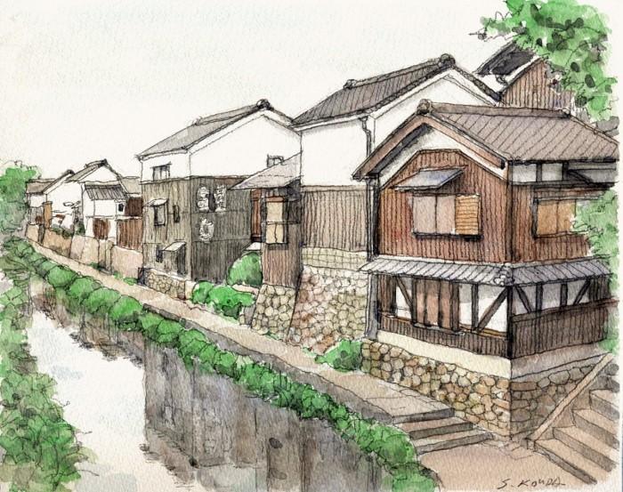 近辺八幡の風景 (700x553)