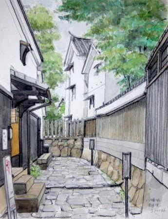 近辺八幡の散歩道1 (345x450)