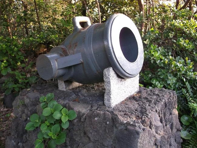 39 昔の大砲(笑)