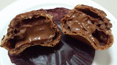 チョコクッキーシュー③