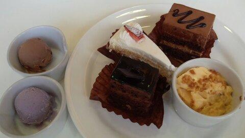 シナモニ皿ケーキ④