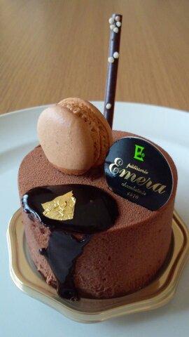 エメラチョコケーキ①