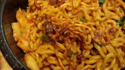 石焼カレー和え麺⑥