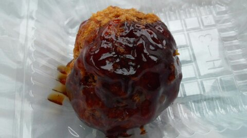 米沢牛肉団子①