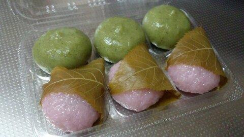 富田屋桜餅②